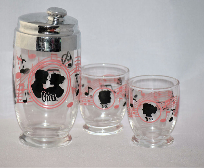 Vintage Barware-Mr. Bartender-Cocktail Set - Retro Reclaimations - 1