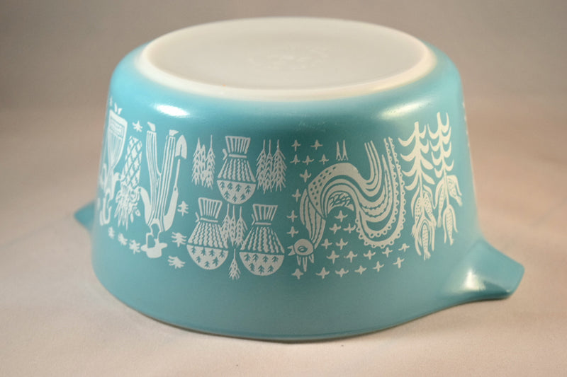 Pyrex Butterprint Covered Round Casserole #473 1.5 Quart - Retro Reclaimations - 8