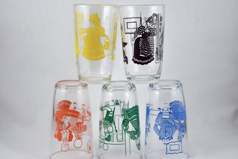 Kraft,swanky swig - Vintage Glassware RetroReclaimations.com