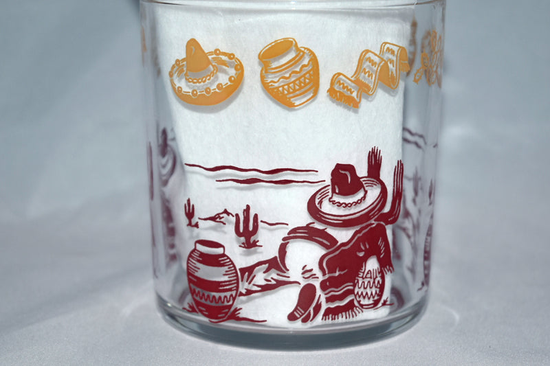 Hazel Atlas,Cottage cheese container - Vintage Glassware RetroReclaimations.com
