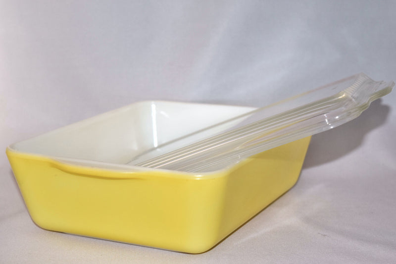 Vintage Glassware-Refrigerator Dishes-Pyrex-Primary Colors - Retro Reclaimations - 5