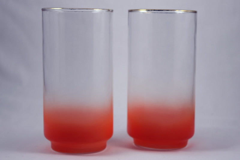 Libbey Satin/ Frosted Glass (Tall Orange) - Retro Reclaimations - 1