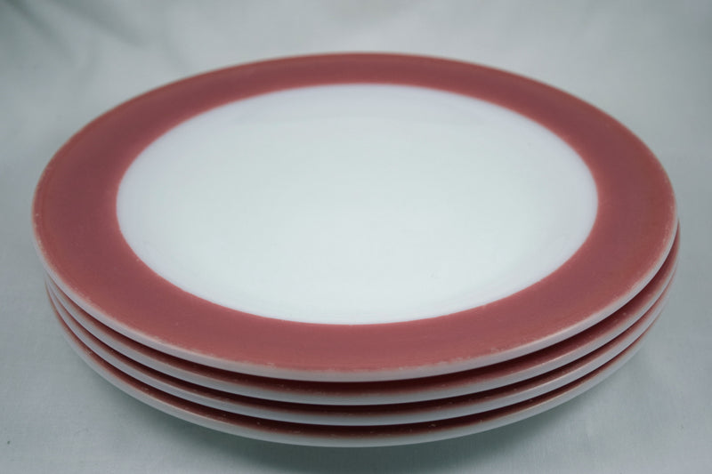 "Pyrex ""Flamingo"" Dinner Plates 1952 - Retro Reclaimations - 2"