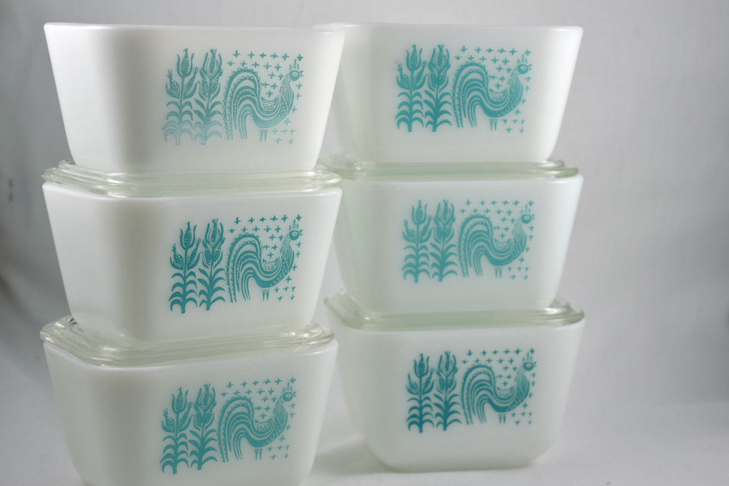 Vintage Glassware Refrigerator Dish-Pyrex-Butterprint-1.5 Cup-1957 - Retro Reclaimations - 1