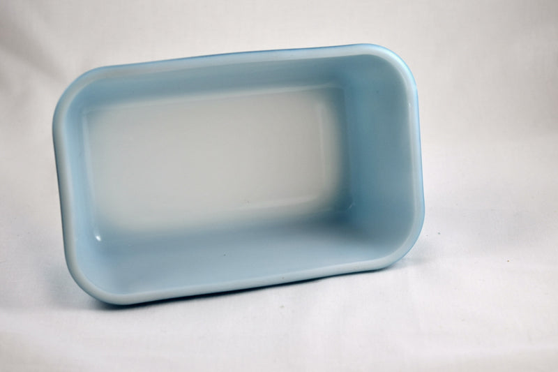 Vintage Glassware-Pyrex-Refrigerator Dish-Primary Colors-Blue-1.5 pint-1945-(1) - Retro Reclaimations - 4