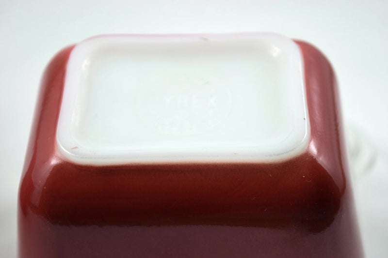 "Pyrex ""Primary Colors"" 1.5 cup Refrigerator Dish-1945 - Retro Reclaimations - 8"
