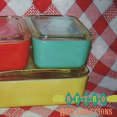 Maid of Honor,refrigerator dish - Vintage Glassware RetroReclaimations.com