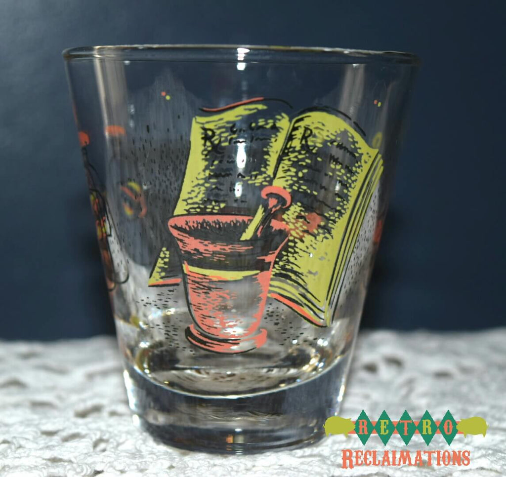 Unknown,Vintage barware - Vintage Glassware RetroReclaimations.com