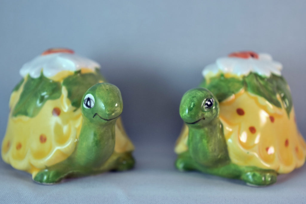 """Japan"",salt n pepper - Vintage Glassware RetroReclaimations.com"