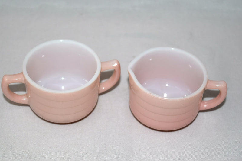 Vintage Glassware-Hazel Atlas-Little Hostess-Tea Set-Pastel - Retro Reclaimations - 4