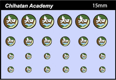 AFV-Decal Chihatan School 15mm