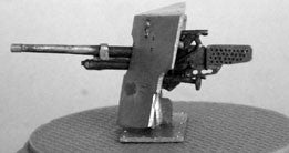 Accessories-AFV Mounted 37mm Gun and shield