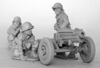 Miniatures Pack Howitzer Great Coat Crew