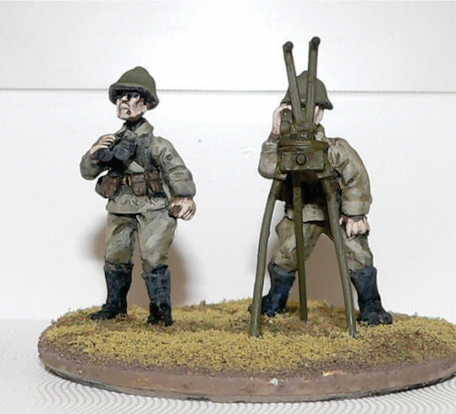 Game Miniatures - Soviet 2 man Spotter Team