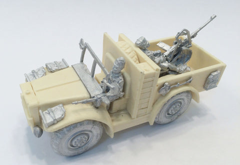 Italian-AFV AS37 Sahariana Truck.  *Remastered.