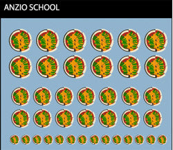 Pop Culture-Decal GuP Anzio School