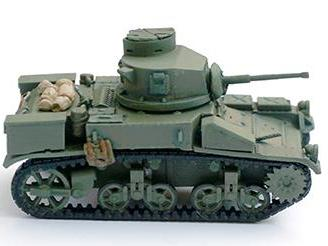 Aussie-AFV M3A1 Stuart  *remastered with optional turrets