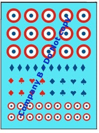 AFV-Decal French unit markings set 2