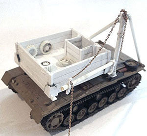 Accessories-AFV Bergepanzer III Conversion Kit