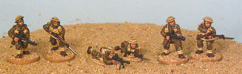 Game Miniatures - Bardia Bren Teams (6)