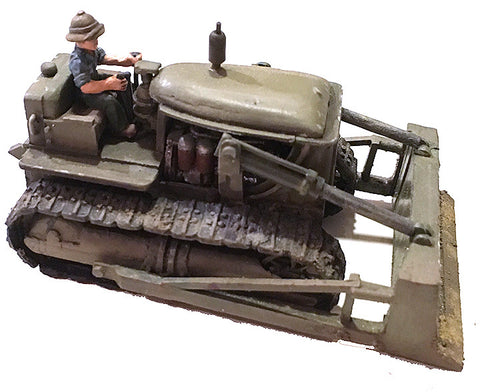 US-AFV D-7 US Navy Bulldozer with driver