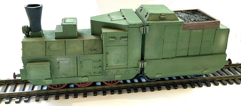 Trains - Armored Train Engine/Tender