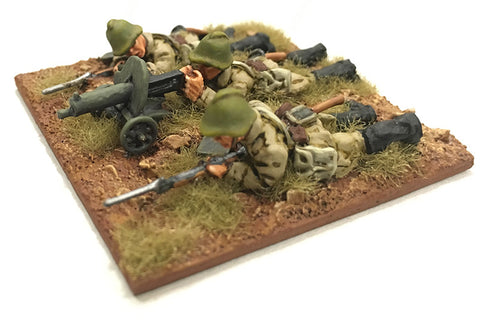 Game Miniatures - Soviet Maxim Advancing and Firing Crew (3 each)