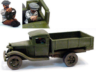 Russian-AFV GAZ AA with driver