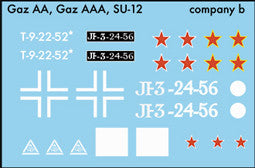 AFV-Decal Russian GAZ