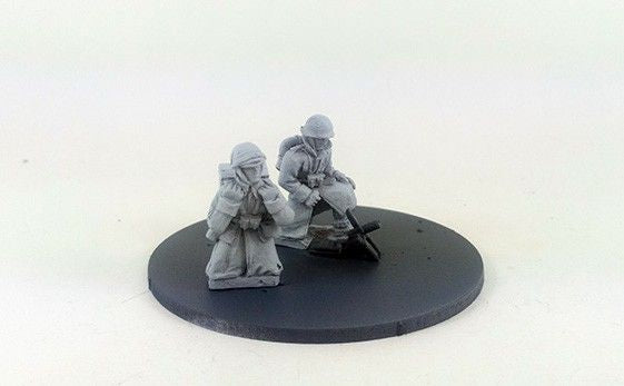Italian Brixia 45mm Mortar – Winter Uniform