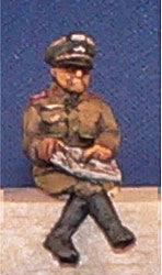 Miniatures German General B