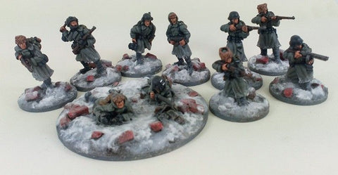 German Stalingrad Veteran Squad A - Winter Uniform GER103