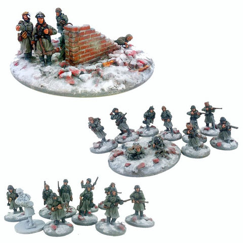 German Stalingrad Veteran Platoon - Winter Uniform GER101