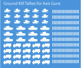 AFV-Decal German Ground Kill Tallies