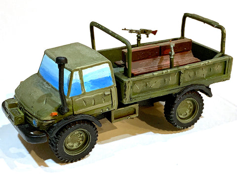 Modern Vehicles - Mercedes Unimog Gun Truck