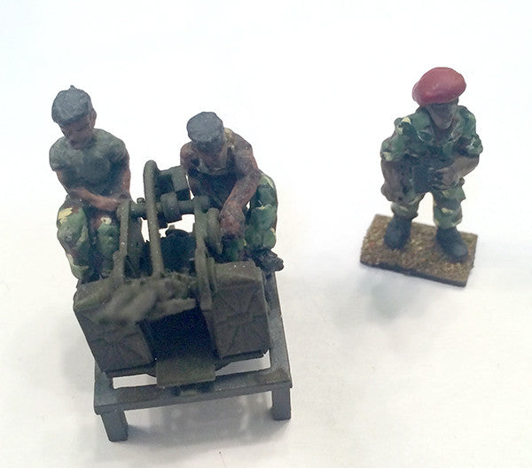 Bushwars - ZPU-2 Vehicle Mounted and crew