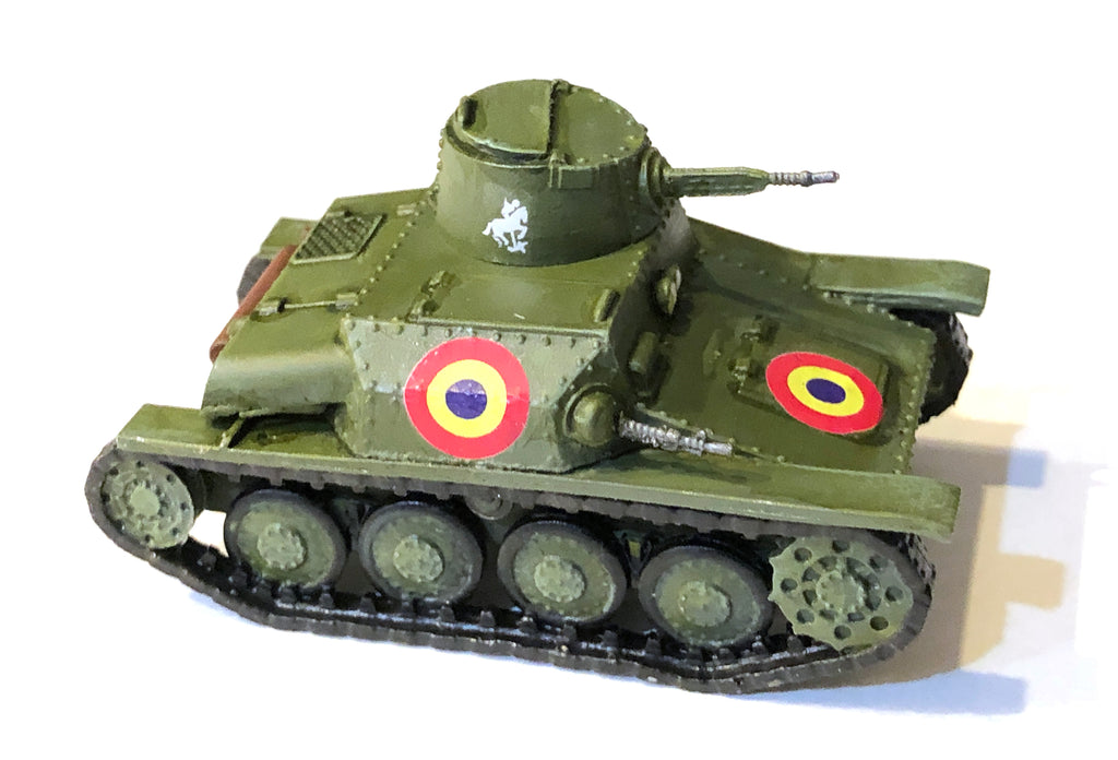 Romanian R1 Tank Light Tank