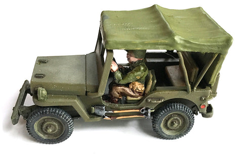 US-AFV Willy's Jeep with open Canopy
