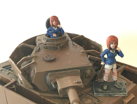 Miniatures Sensha-Dou (female) Commander #1 28mm Full & Torso