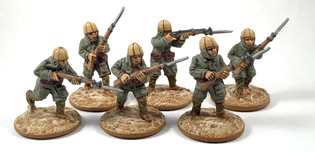 Game Miniatures - IJA Para Rifles with bayonet (6)
