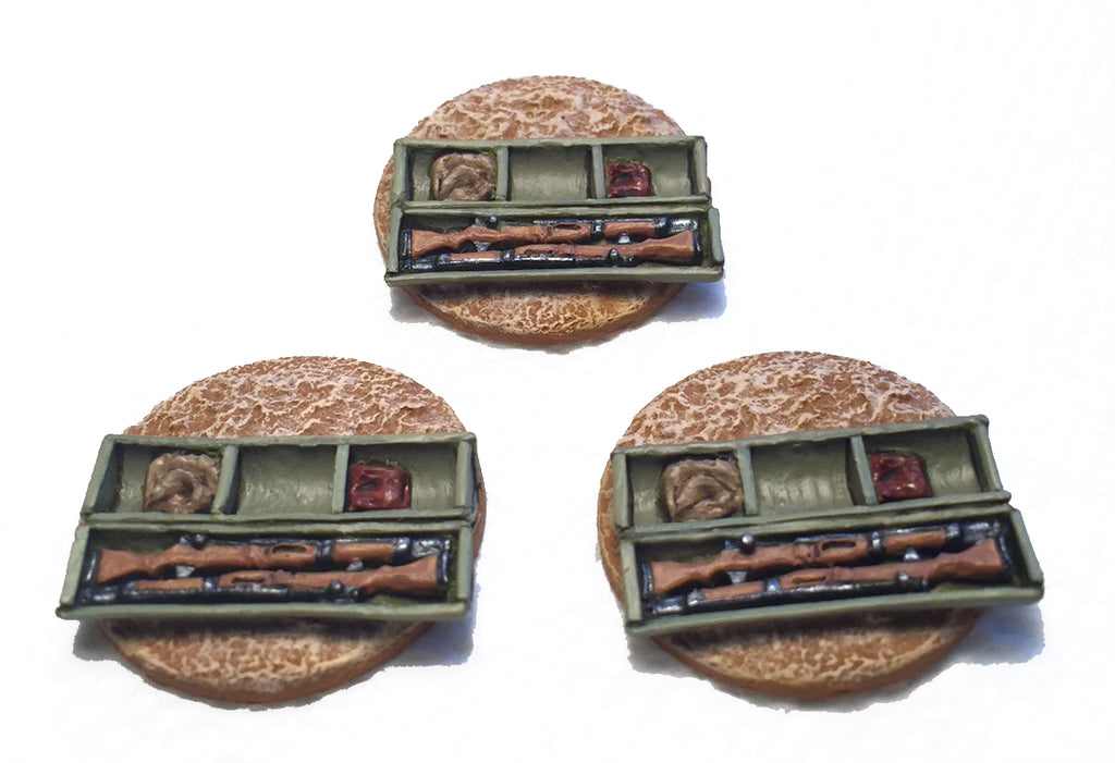 Game Miniatures -Japanese Paratroop Drop Canister (3)