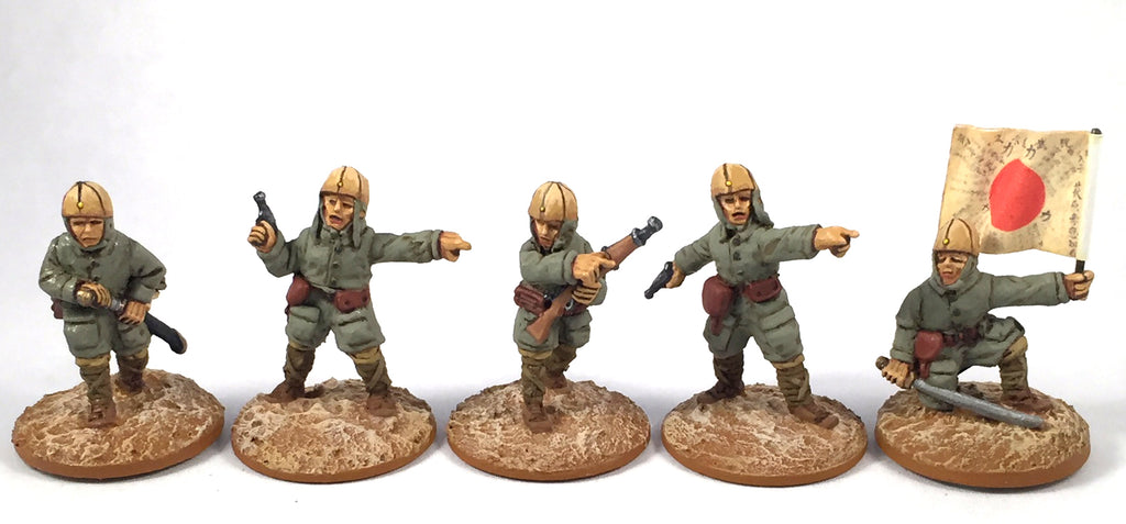 Game Miniatures - IJA Para Cmd (5)