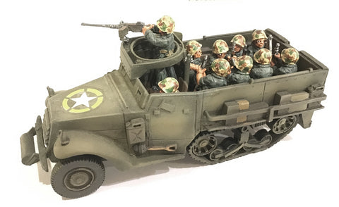 US-AFV M3 series Halftrack personnel carrier