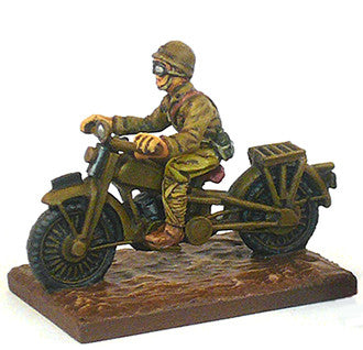 IJA-AFV Japanese Motorcycle with driver