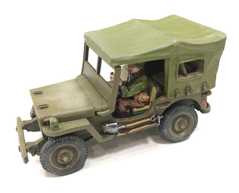 US-AFV Willy's Jeep with 3/4 Canopy