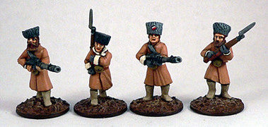 Game Miniatures - Czech Legion Lewis Gunners  (4)