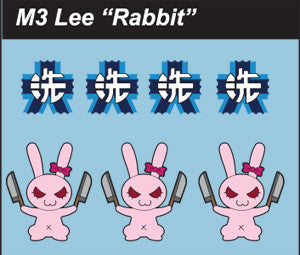 Pop Culture-Decal GuP M3 Lee Rabbit
