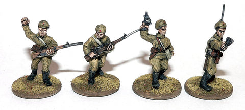 Game Miniatures - Mongolian Command Group (4)