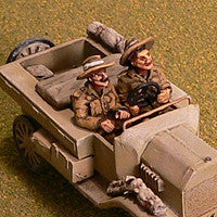Miniatures Interwar driver and passenger