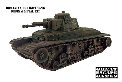 Romanian R2 Light Tank (ROM023)